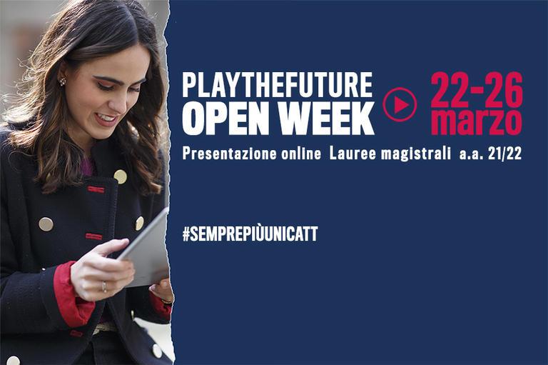 Open Week Unicatt   Presentazione delle lauree magistrali ...